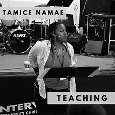 Tamice Namae Podcast Appearances