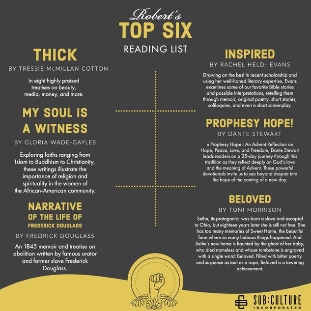 Robert's top six.jpg