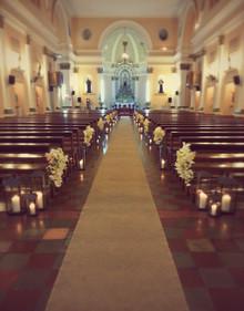 Velas na Decoração de Casamentos