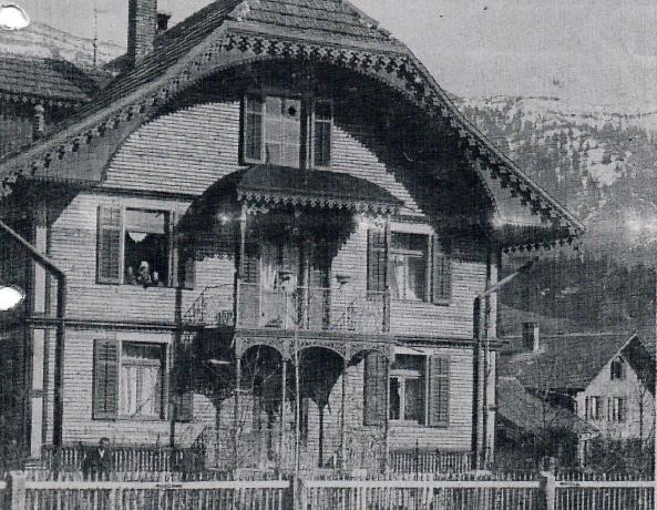 """Dr. Portmann Haus"" Anfang 20. Jahrhundert"