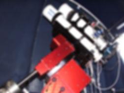 Teleskop des Alpine Astrovillage