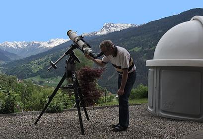 Sun observation through an H-alpha filter
