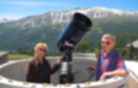Alpine Astrovillage  Astrophotography