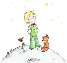 picccolo principe acquerello - piccola.j