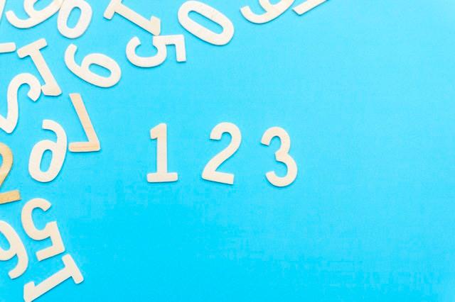 Numeri sparsi per tabelline