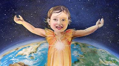 Dipinto di Sandra Stranieri. Acquerello,pastello, tempera su carta.