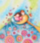 Dipinto di Sandra Stranieri. Acquerello e tecniche miste su carta.