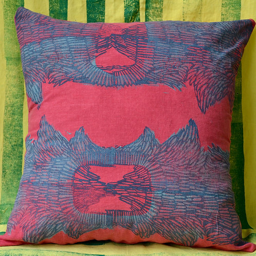 Hand Printed Pillow Cover (large)