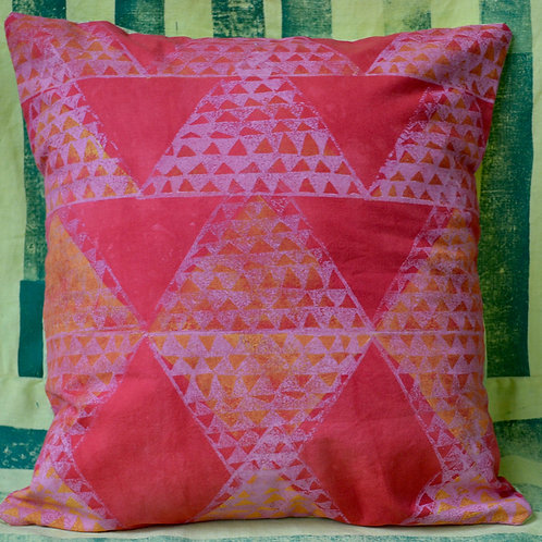Hand Printed Pillow Cover (small)