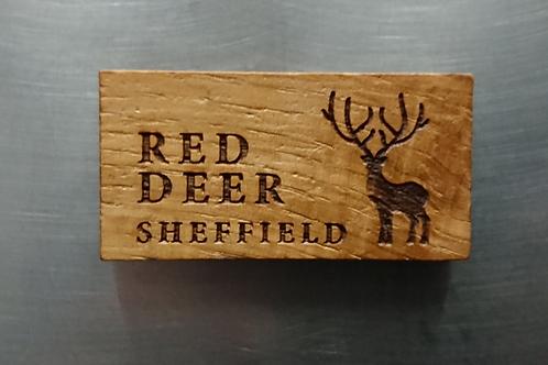 Red Deer Magnet