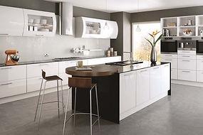 Bella White Lincoln kitchen