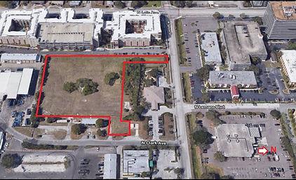 Aerial Image Spruce Street bid