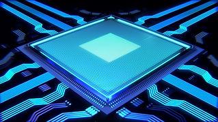 近未来的なプロセッサーイメージ