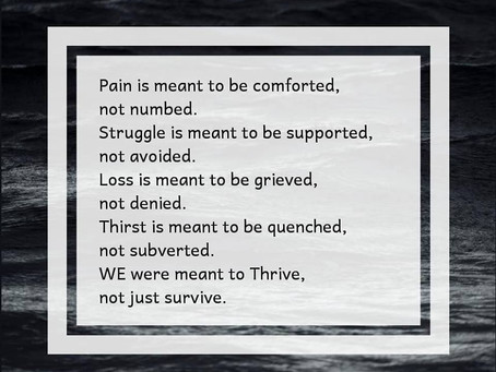 Comforted Pain