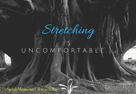 Stretching is Uncomfortable
