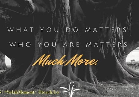 Who you are Matters