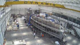 Dynamiq GTT 135 construction update