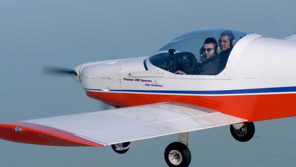 No Barriers Airplanes to Fly in Freedom