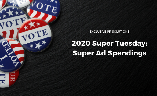 2020 Super Tuesday: Super ad spendings