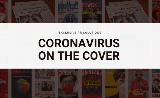 Coronavirus on the cover