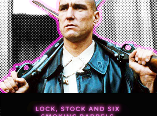 Lock, stock and SIX smoking barrels. Instagram version