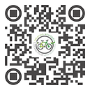 Michael Poliza eBike Adventures Hamburg  QR Code Visitenkarte