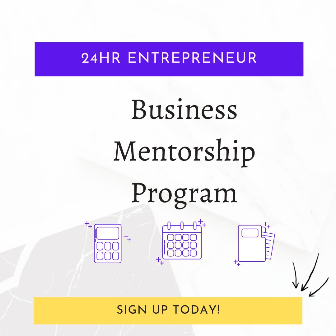 4 Week Business Mentorship