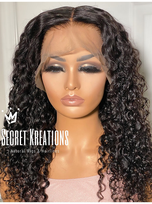 """""""JADE"""" Spiral Curl 13X6 Lace Front Wig"""