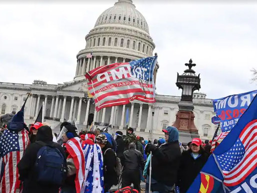 Breaking - Hundreds of People Storm Capitol Barricades
