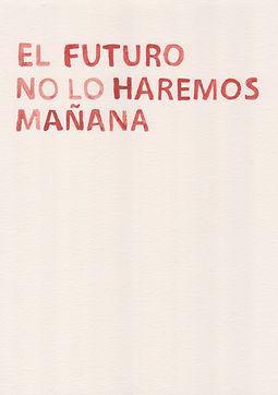 Fernando Nureña.  01. ST de la serie Antes del fin del mundo, 2019-2020. Acuarela sobre papel. 29.7 x 21 cm.