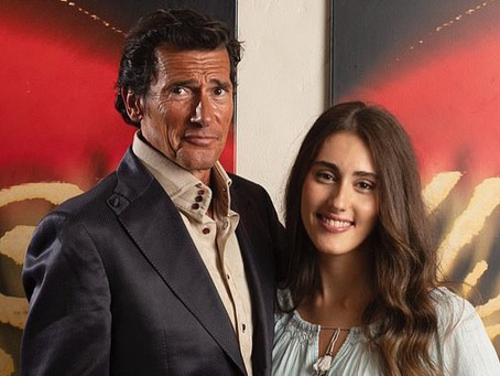 Mail Online: Roger Moore's granddaughter Ambra makes her acting debut