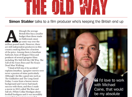 Best of British Magazine: He Makes Films the Old Way