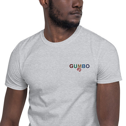 Gumbo Color Short-Sleeve Unisex T-Shirt