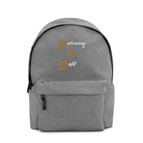 DRS Merch Embroidered Backpack