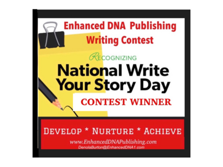 """And the """"Write Your Story Contest"""" Winner is....."""