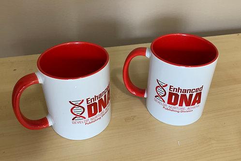 Enhanced DNA Publishing Logo - Porcelain Cup