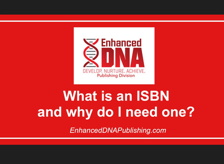 What is an ISBN and Why Do I Need one?