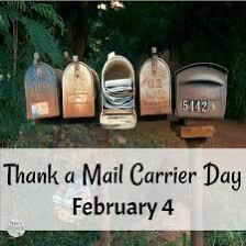 It's National Thank A Mail Carrier Day!