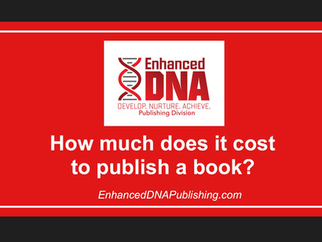 How Much Does it Cost to Publish a Book?