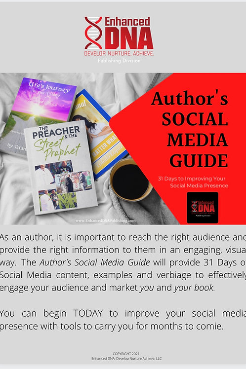 Author's 31 Day Social Media Guide