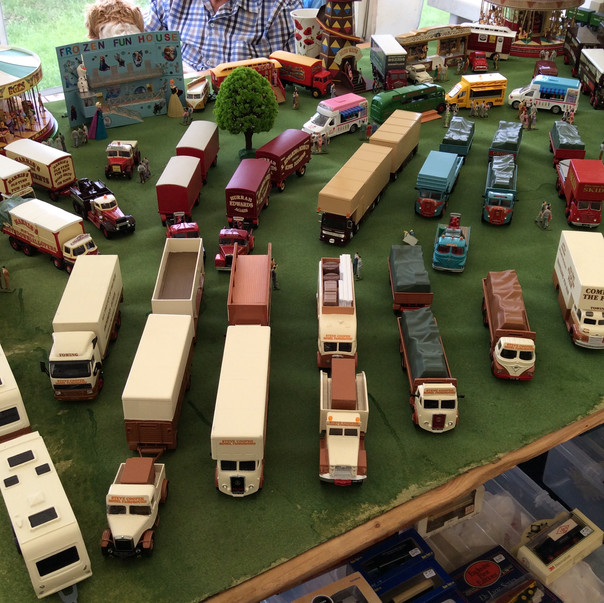 Trade & community stalls