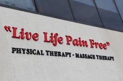 """ Live Life Pain Free """