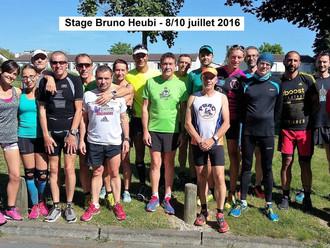 Stage de préparation à la course à pied et aux méthodes d'entrainement organisé par Bruno Heubi au C