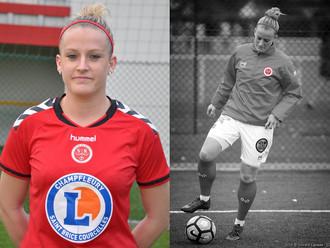 Mélissa Thill, la guerrière de l'équipe du Stade de Reims Féminines : patiente régulière en Fasciapu