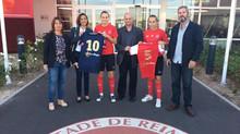Le Cabinet Terre Happy, partenaire du Stade de Reims Féminines !