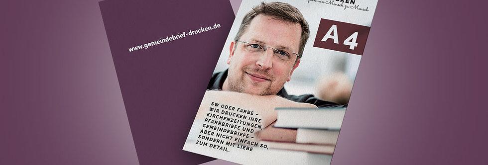 Handzettel / Flyer DIN A4