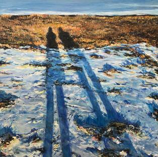 Morning walk - 60 x 50 - Akryl på lærred.jpg
