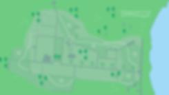 kortoversigt af Annebergparken skulpturstien