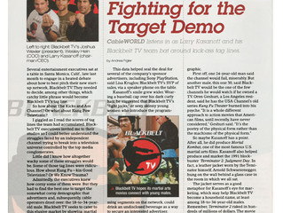 Fighting for the Target Demo