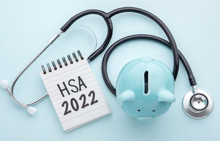 The IRS has announced 2022 amounts for Health Savings Accounts